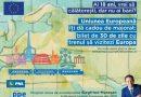 """Tineretul Național Liberal: Îi invităm pe tineri să se înscrie în programul """"Descoperă Europa"""". 750 tineri din România pot călători gratis în Uniunea Europeană"""