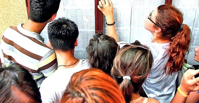 Datele statistice referitoare la rezultatele de la evaluarea nationala de la clasa aVIII-a.