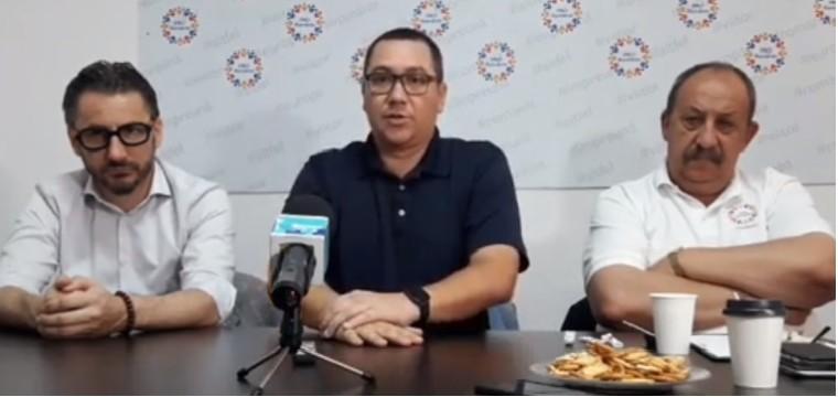 Conferinta de presa Pro Romania Giurgiu – Victor Ponta