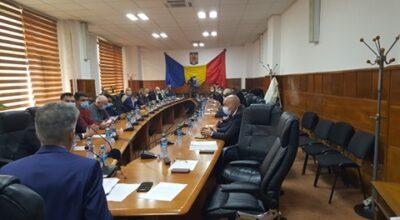 Au fost aleși vicepreședinții Consiliului Județean Giurgiu