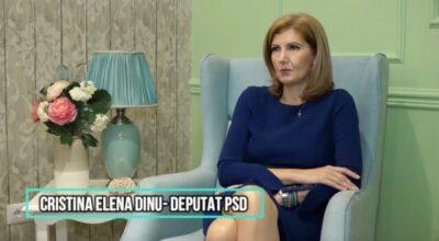Interviu cu deputatul PSD de Giurgiu Cristina Elena Dinu: Măsuri pentru familiile cu copii, măsuri urgente pentru combaterea pandemiei şi ce îşi propune pentru un nou mandat